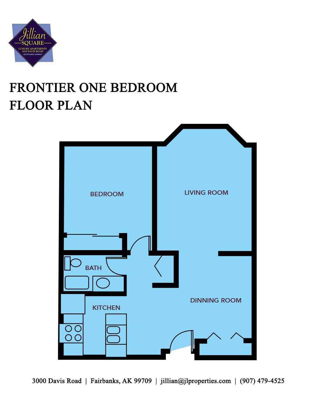 Fairbanks alaska apartments jillian square apartments for Frontier plans